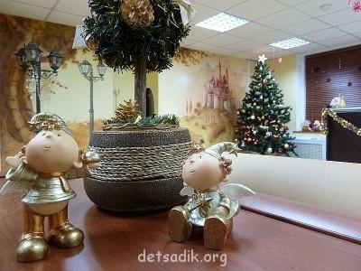 Новогодний холл Детского Центра ЛОГОС - LOGOS.jpg